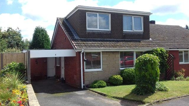 3 Bedrooms Semi Detached Bungalow for sale in Browning Road,Burntwood,Staffordshire