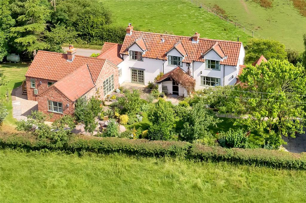 4 Bedrooms Detached House for sale in Belvoir Vale Cottage, Stenwith, Nottinghamshire