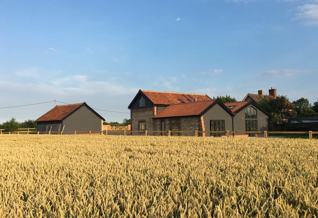 4 Bedrooms Barn Conversion Character Property for sale in Framsden, Nr Debenham, Suffolk