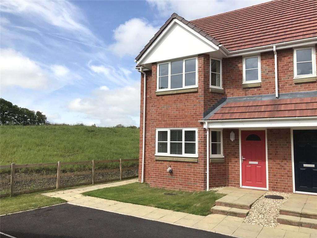 3 Bedrooms Semi Detached House for sale in Dulas Bank, Tremont Parc, Llandrindod Wells, Powys