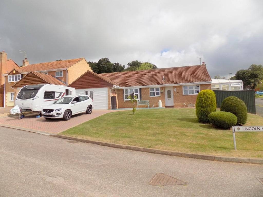 3 Bedrooms Detached Bungalow for sale in Lincoln Close, Exmouth