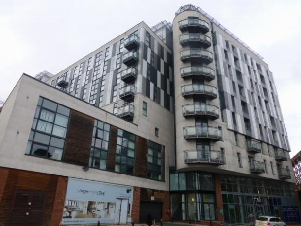 1 Bedroom Apartment Flat for sale in Fresh Building, Chapel Street, Salford, M3 6DE