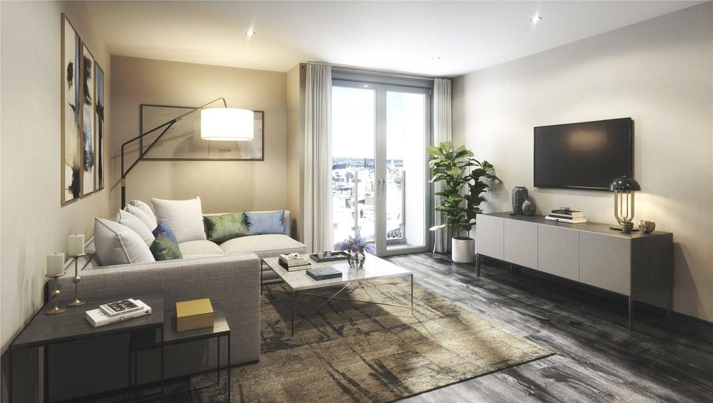 2 Bedrooms Flat for sale in The Hallmark, Cheetham Hill Road, Manchester, Greater Manchester, M4