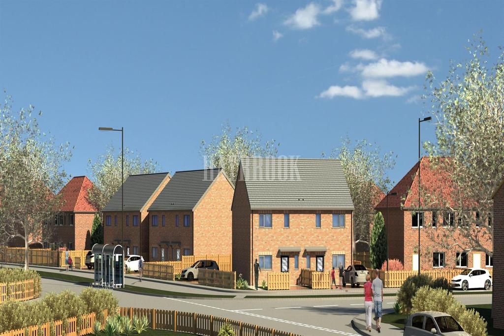 3 Bedrooms Semi Detached House for sale in Plot 2, Heritage Mews, Elsecar, Barnsley