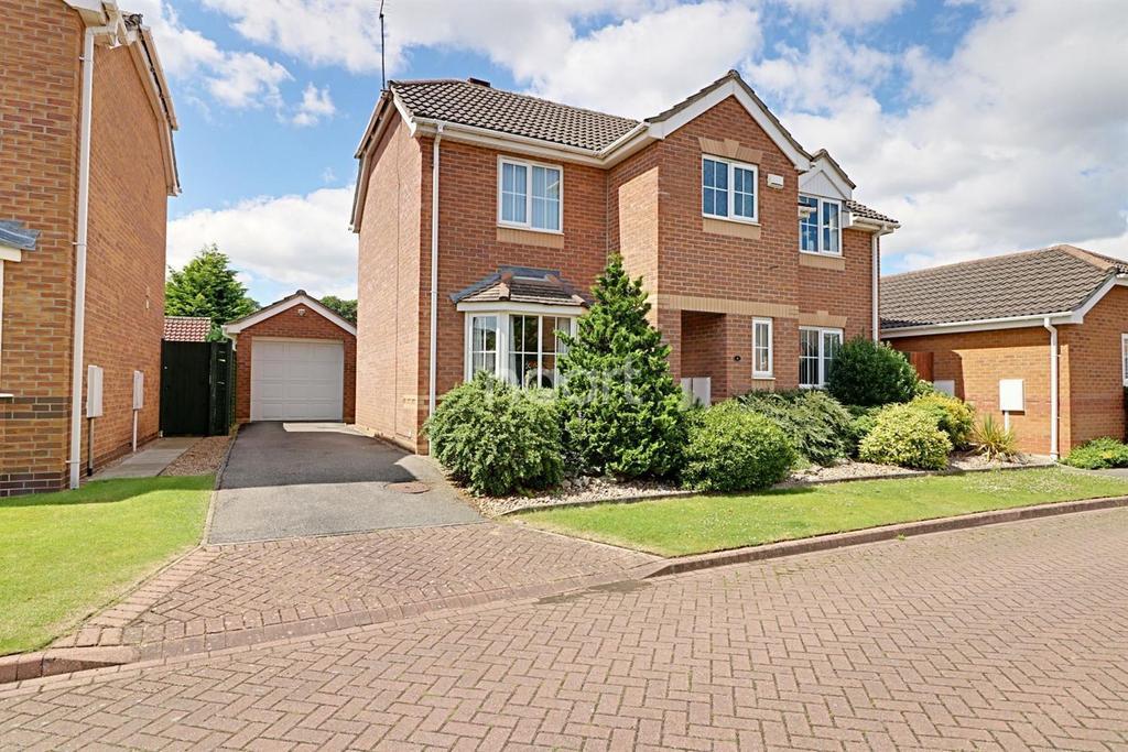 4 Bedrooms Detached House for sale in St Albans Close, Bracebridge Heath