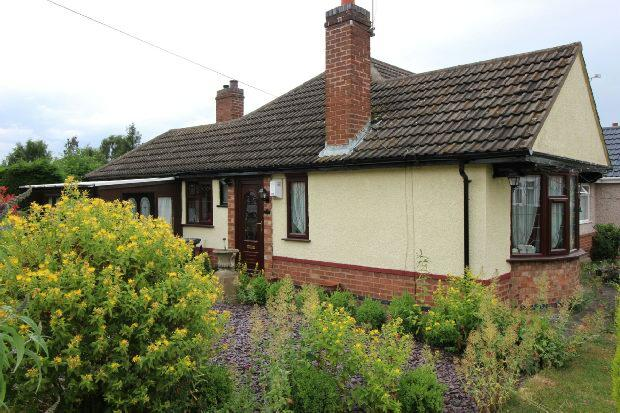 2 Bedrooms Semi Detached Bungalow for sale in Barbridge Road, Bulkington, Nr Bedworth
