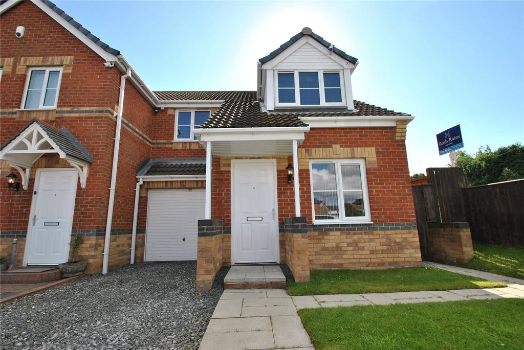 3 Bedrooms Semi Detached House for sale in Windermere road, South Hetton, County Durham, DH6