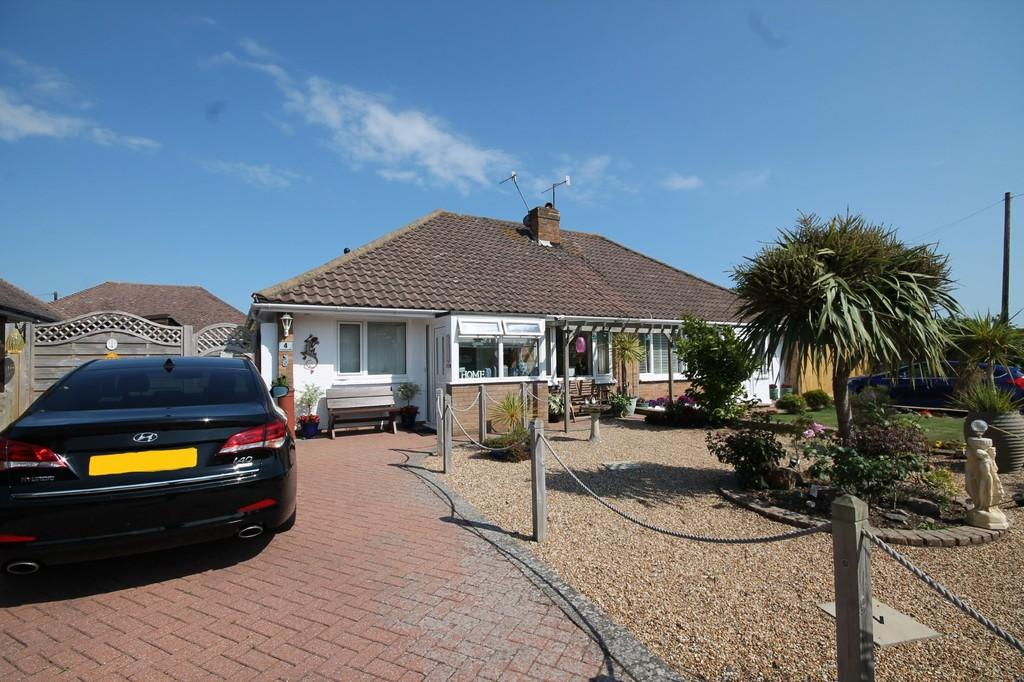 2 Bedrooms Semi Detached Bungalow for sale in Greentrees Crescent, Sompting