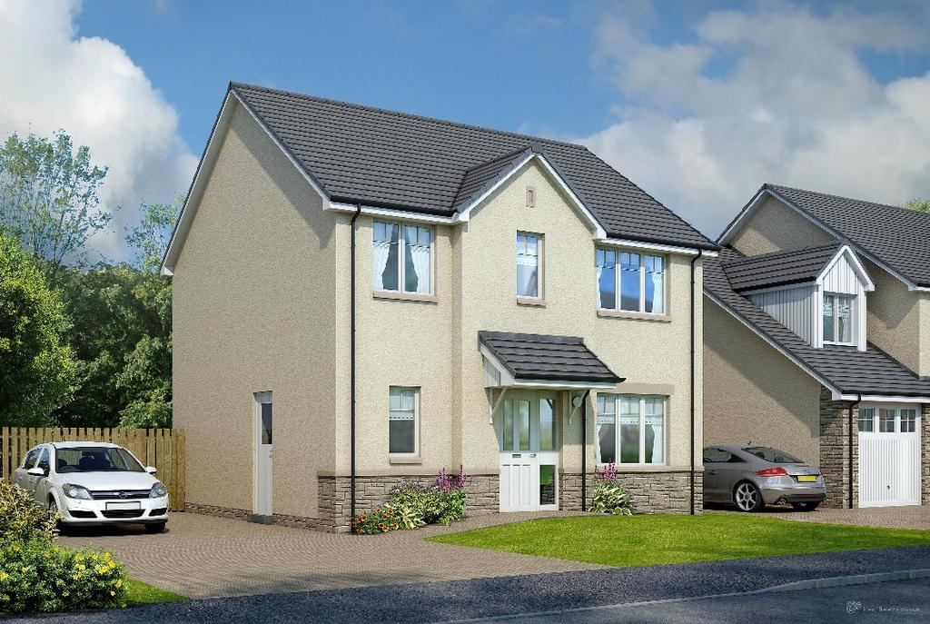 4 Bedrooms Detached House for sale in Plot 39 Lomond, Carnock Road, Dunfermline, Fife, KY12 9NT