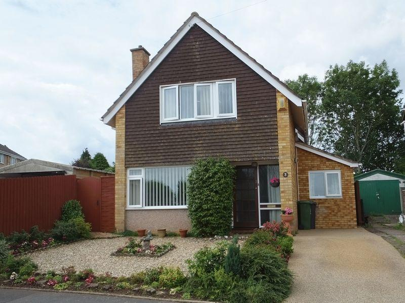 3 Bedrooms Detached House for sale in Coates Road, Exeter
