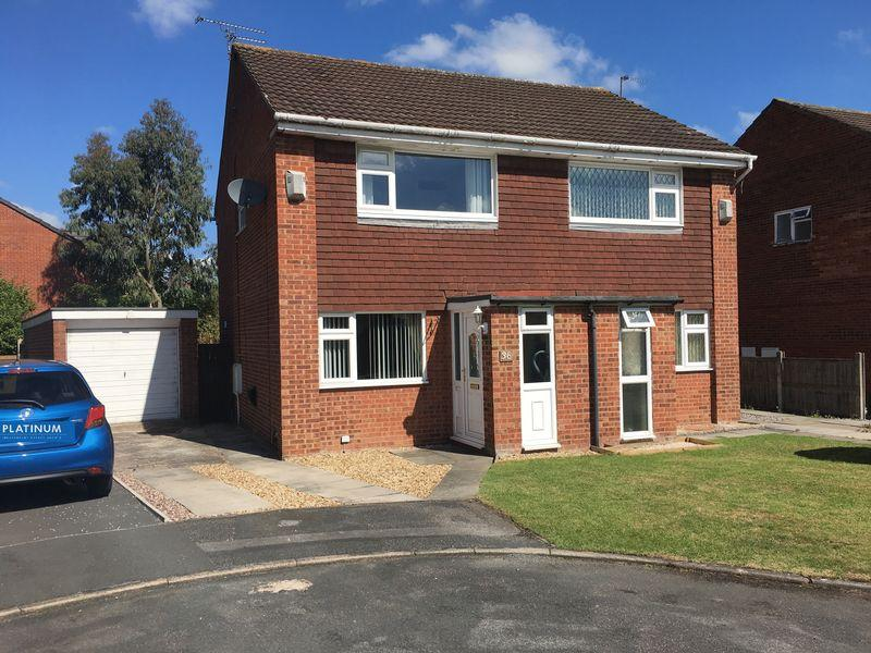 2 Bedrooms Semi Detached House for sale in Larchdale Close, Whitby
