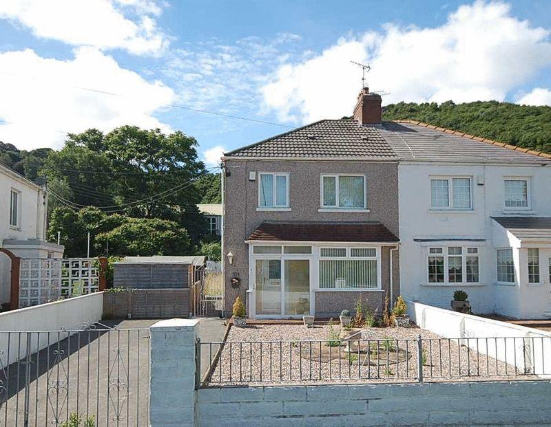3 Bedrooms Semi Detached House for sale in 3 New Road, Jersey Marine, Neath, SA10 6JR