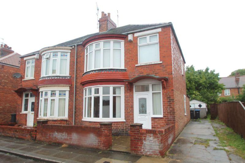 3 Bedrooms Semi Detached House for sale in Harrogate Crescent, Linthorpe