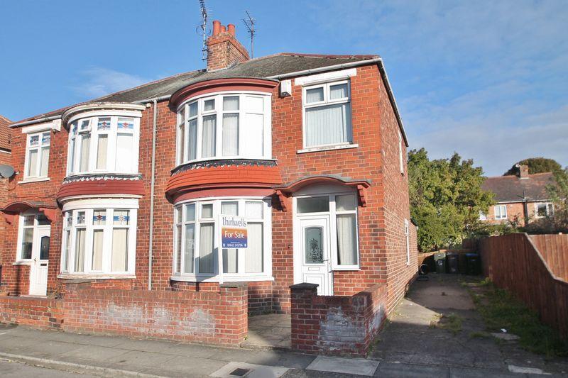 3 Bedrooms Semi Detached House for sale in Harrogate Crescent, Linthorpe