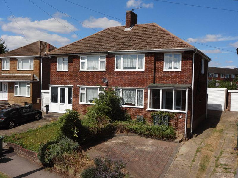 3 Bedrooms Semi Detached House for sale in Grampian Way, Luton