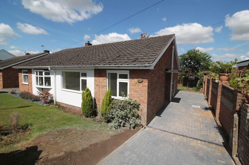 2 Bedrooms Semi Detached Bungalow for sale in Trenleigh Gardens, Trench, Telford