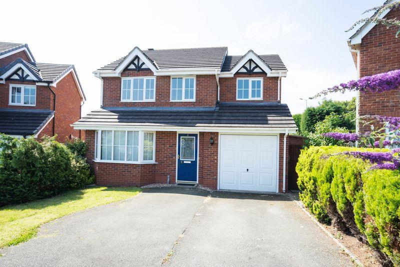 4 Bedrooms Detached House for sale in Kingfisher Walk, Ellesmere
