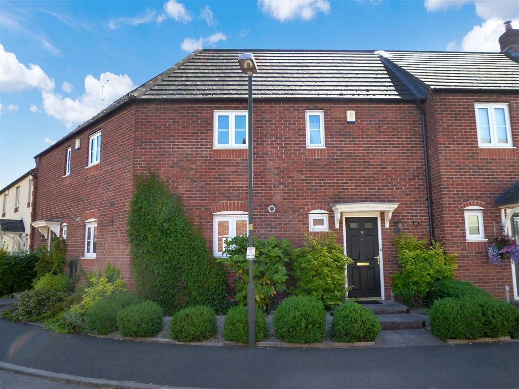 2 Bedrooms Terraced House for sale in Primrose Way, Kidderminster, Worcestershire