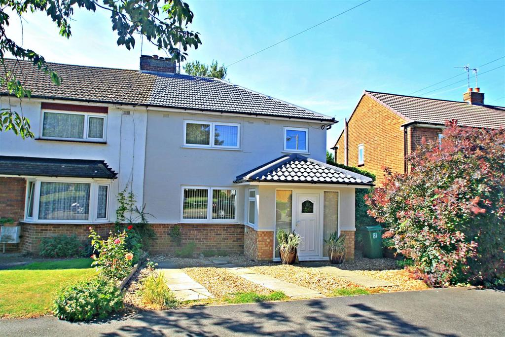3 Bedrooms End Of Terrace House for sale in St. Georges Road, Bletchley, Milton Keynes