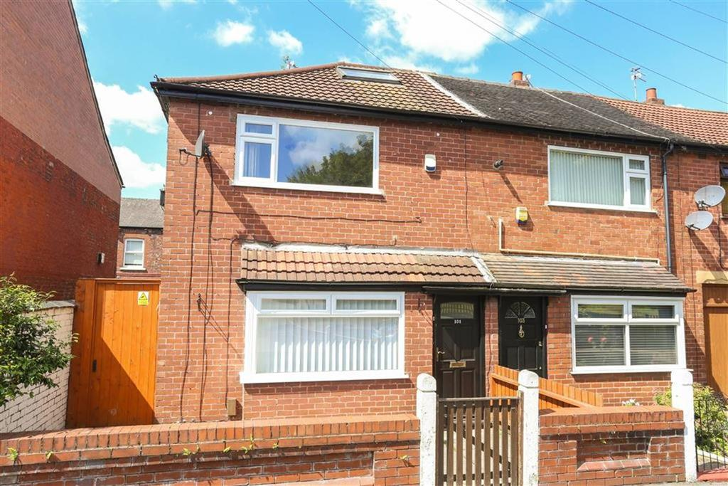 3 Bedrooms End Of Terrace House for sale in Lloyd Street, Heaton Norris