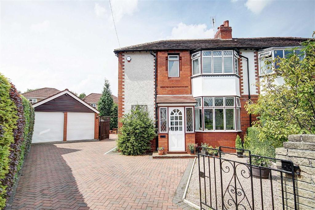 3 Bedrooms Semi Detached House for sale in Thorley Drive, Timperley, Cheshire