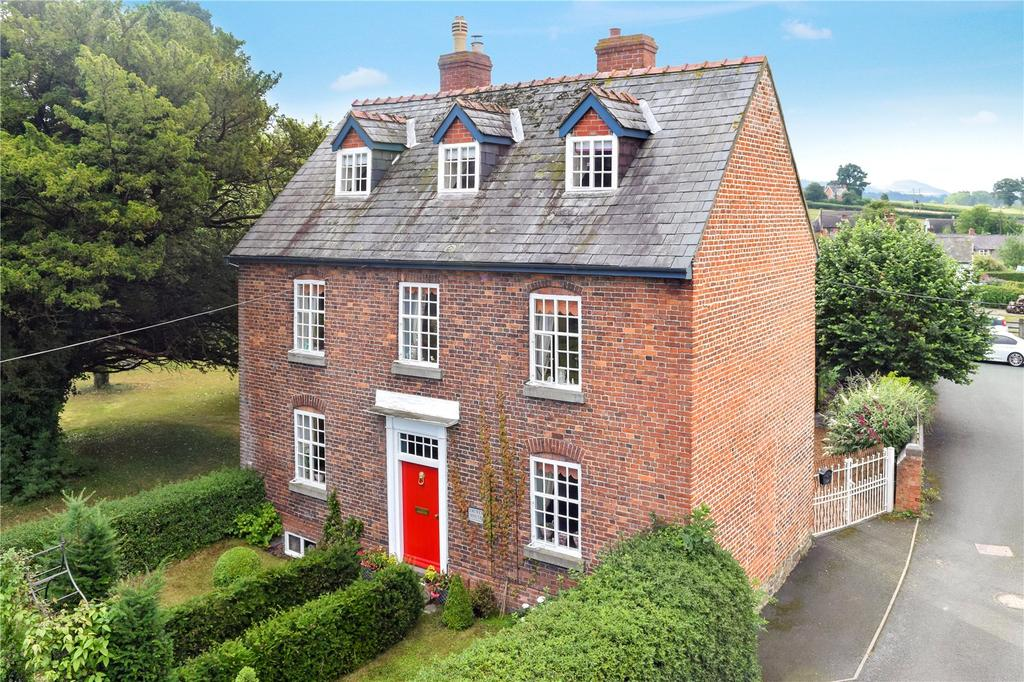 4 Bedrooms Detached House for sale in Chirbury, Montgomery, Shropshire