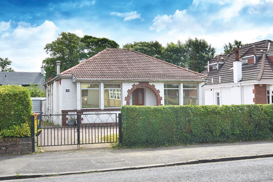 2 Bedrooms Detached Bungalow for sale in 30 Milngavie Road, Bearsden, G61 2DP