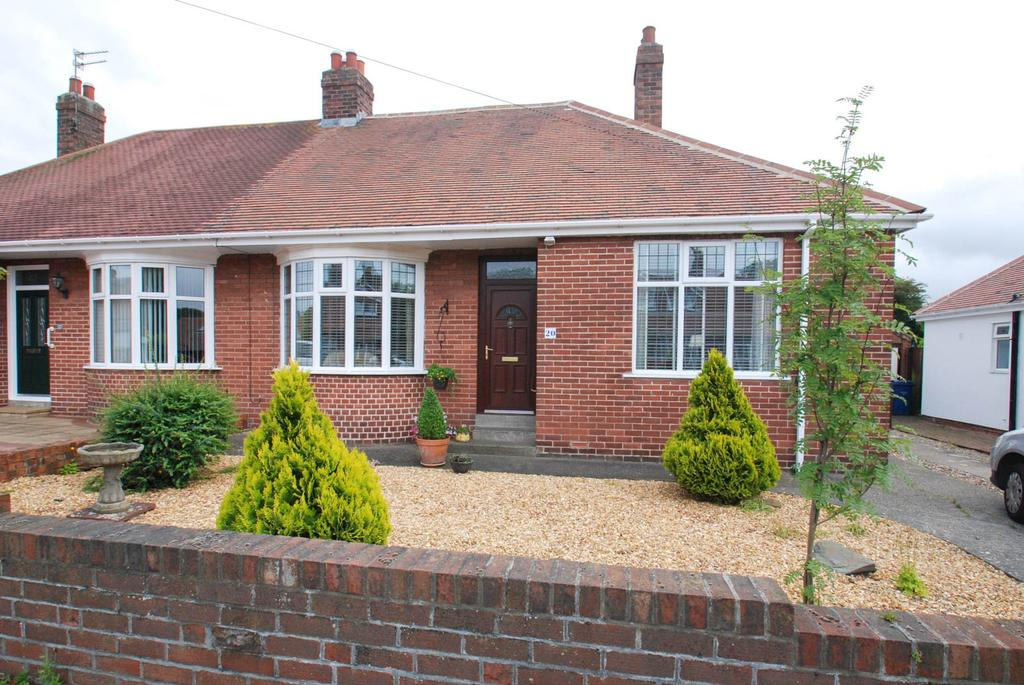 2 Bedrooms Bungalow for sale in Clyvedon Rise, South Shields
