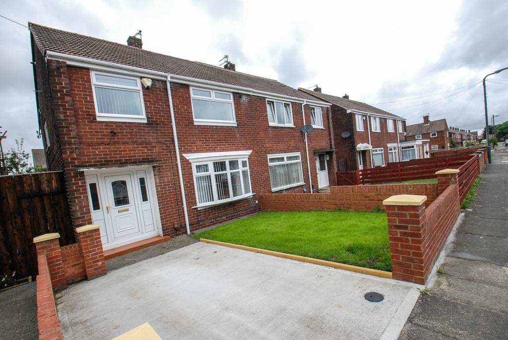 3 Bedrooms Semi Detached House for sale in Titian Avenue, South Shields