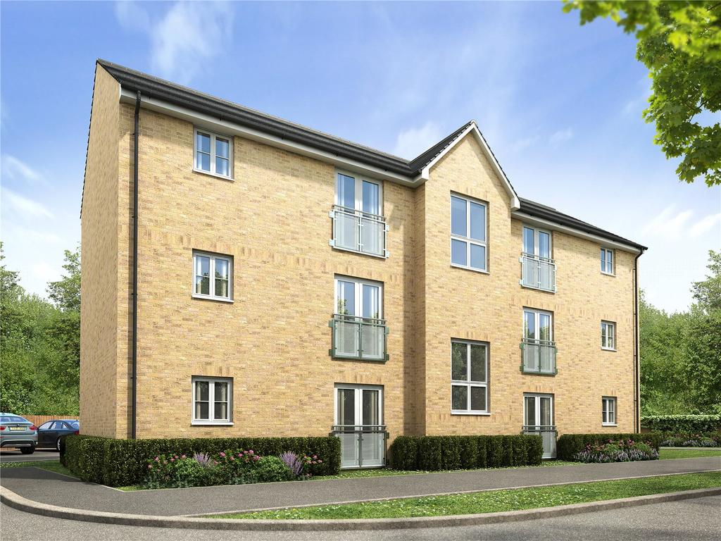2 Bedrooms Flat for sale in Plot 296 Millers Field, Manor Park, Sprowston, Norfolk, NR7