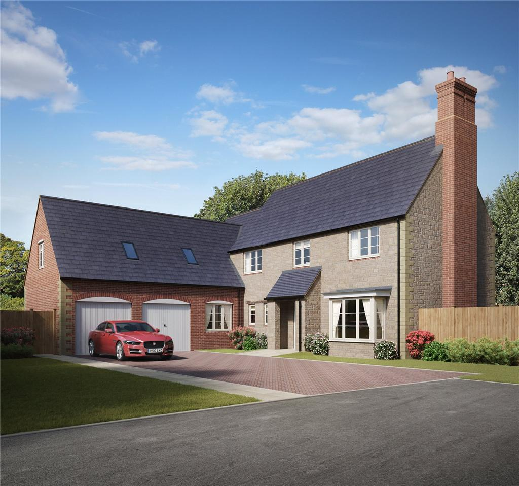 5 Bedrooms Detached House for sale in Plot 34, Little Rushes, Kings Sutton, Banbury, Oxfordshire, OX17