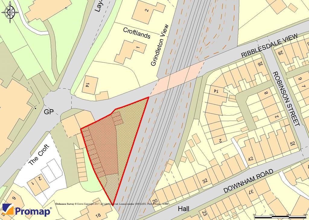 Land Commercial for sale in Chatburn, Clitheroe, Lancashire, BB7