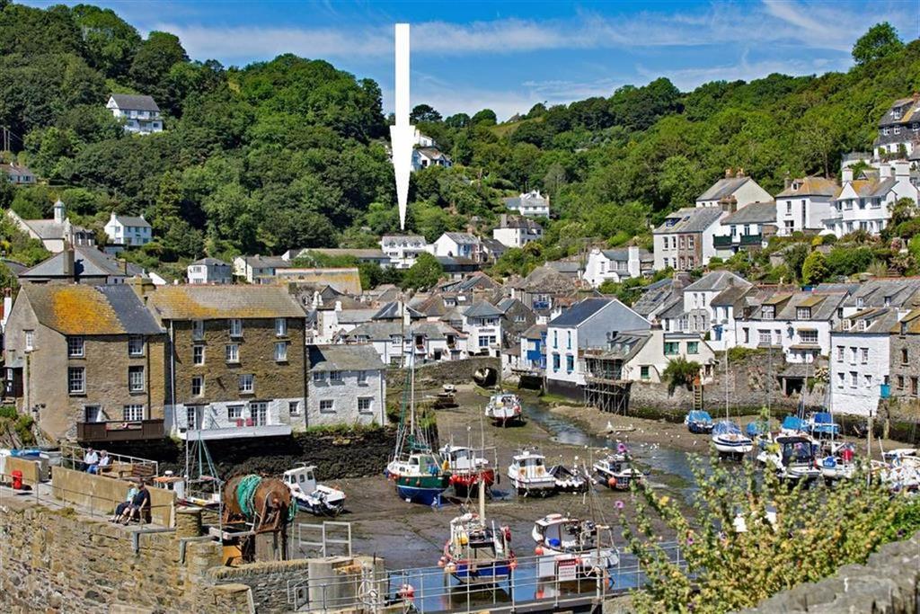 4 Bedrooms Detached House for sale in Landaviddy Lane, Polperro, Cornwall, PL13