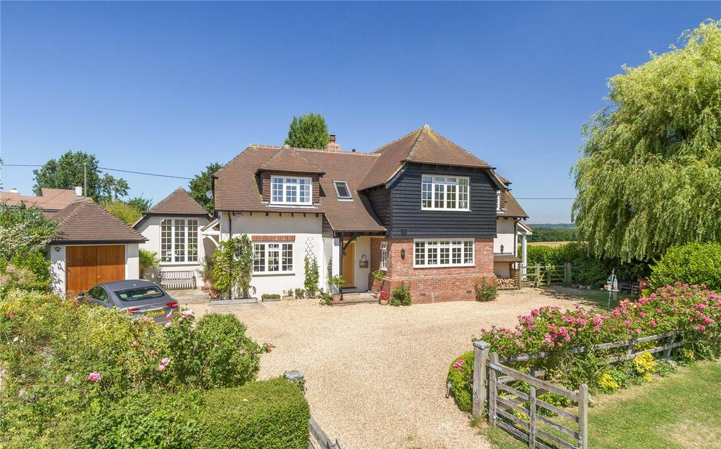 4 Bedrooms Detached House for sale in Hoyle Lane, Heyshott, Midhurst, West Sussex, GU29