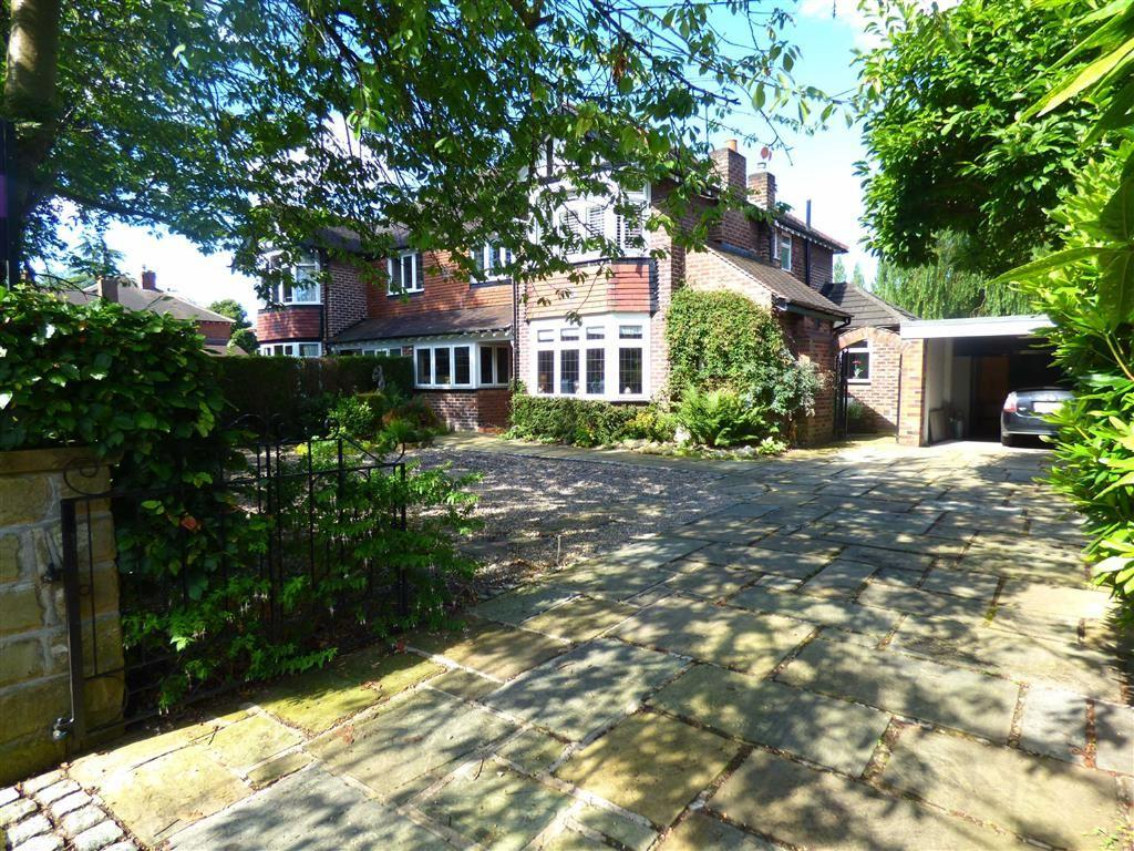 4 Bedrooms Semi Detached House for sale in Brampton Road, Bramhall, Cheshire