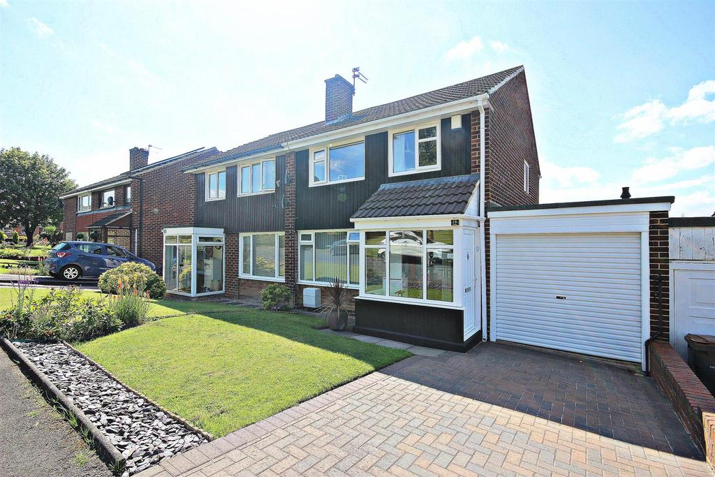 3 Bedrooms Semi Detached House for sale in Coverley, Great Lumley, Chester Le Street