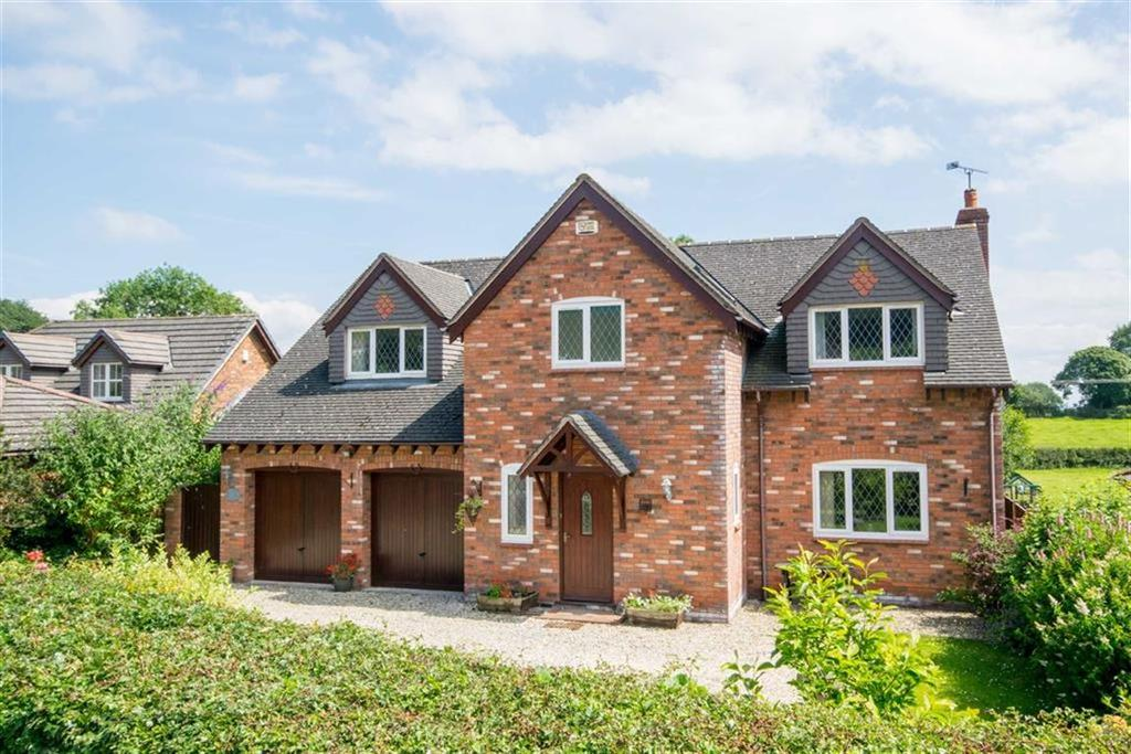 4 Bedrooms Detached House for sale in Cymau, Wrexham