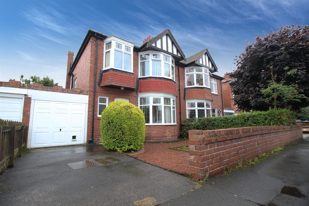 3 Bedrooms Semi Detached House for sale in Clayworth Road, Newcastle Upon Tyne