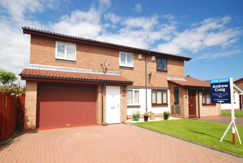 3 Bedrooms Semi Detached House for sale in North Drive, Hebburn
