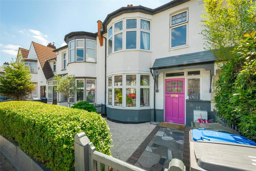 4 Bedrooms Terraced House for sale in Whitmore Gardens, London, NW10