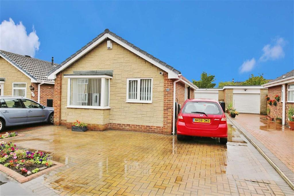2 Bedrooms Detached Bungalow for sale in Houlsyke Close, Tunstall, Sunderland, SR3