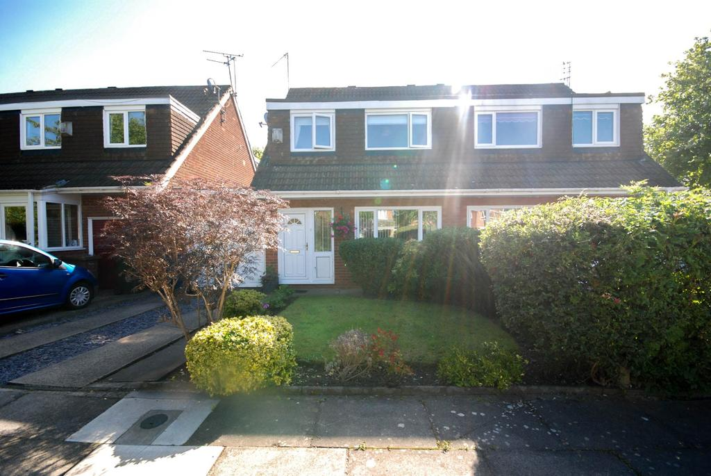 3 Bedrooms Semi Detached House for sale in Courtney Court, Kingston Park