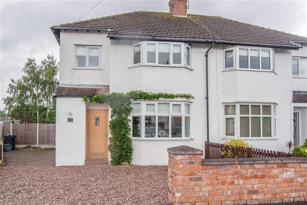 3 Bedrooms Semi Detached House for sale in Meadowsway, Upton, Chester, Chester