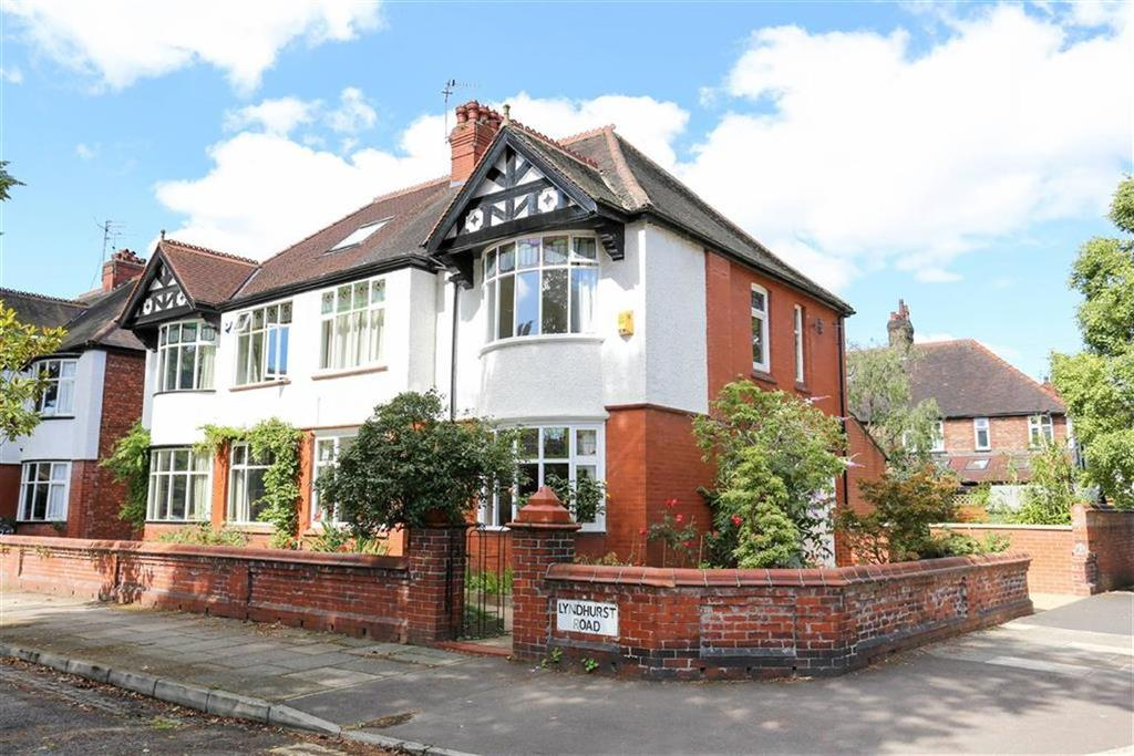 4 Bedrooms Semi Detached House for sale in Lyndhurst Road, Didsbury, Manchester