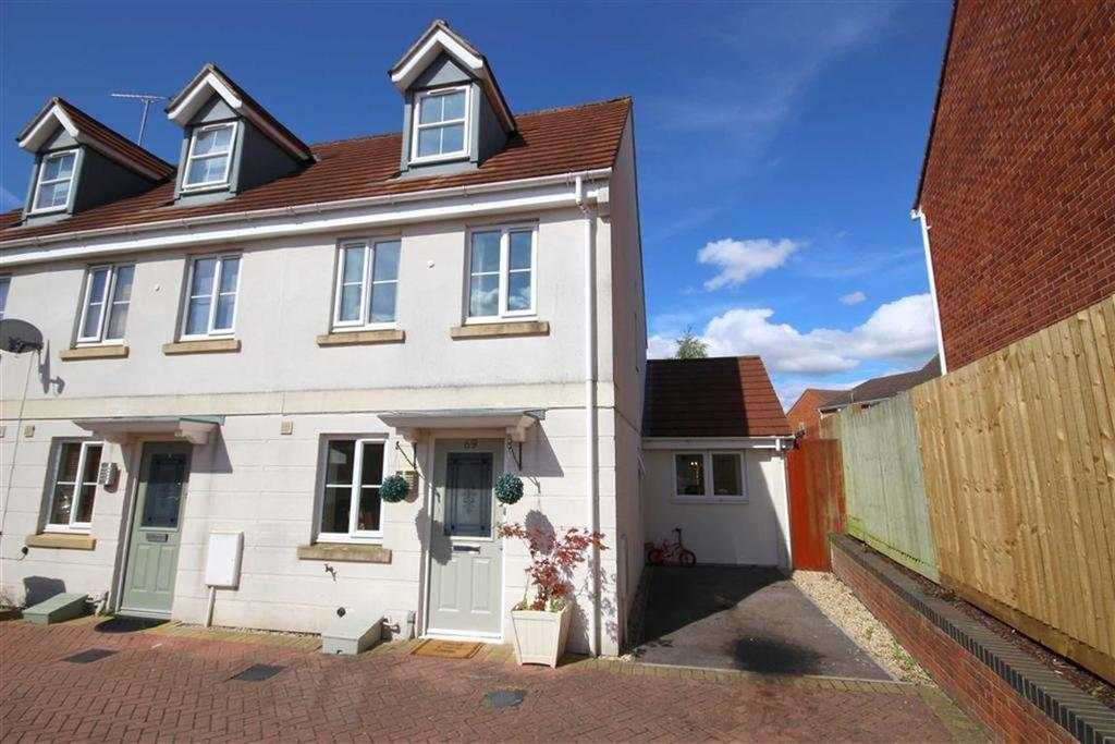 4 Bedrooms Town House for sale in Rosebay Gardens, Hayden, Cheltenham, GL51