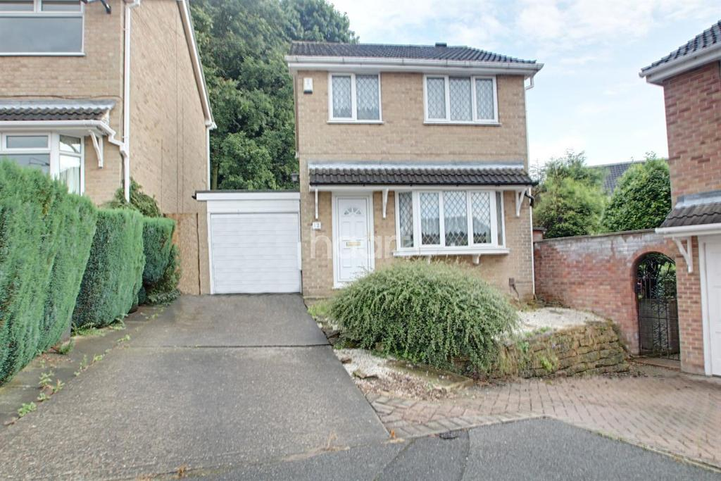3 Bedrooms Detached House for sale in Chiltern Close, Warren Wood, Nottingham.