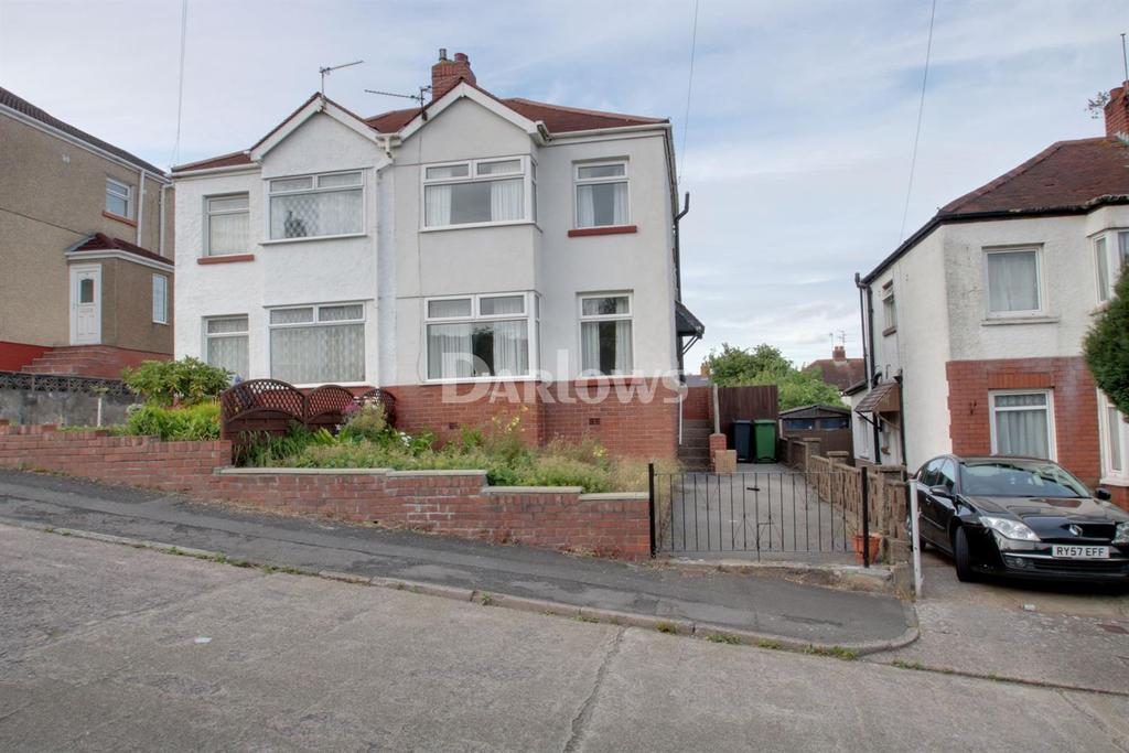 3 Bedrooms Semi Detached House for sale in Northlands, Rumney, Cardiff