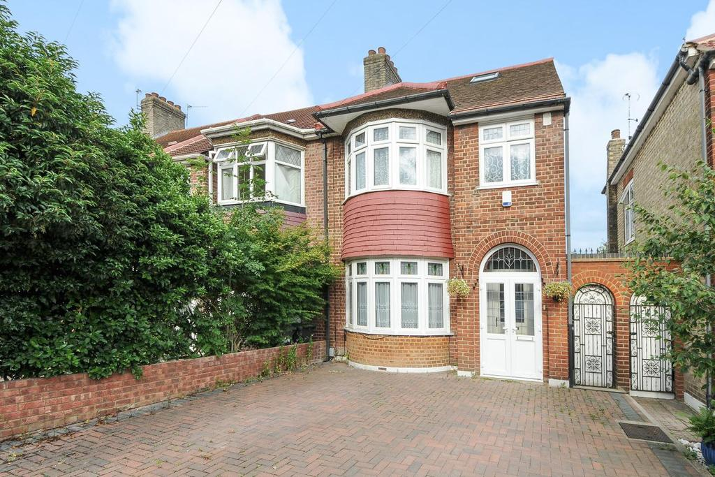 4 Bedrooms Semi Detached House for sale in The Larches, Palmers Green, N13