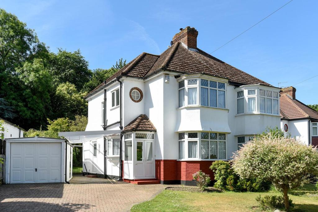 3 Bedrooms Semi Detached House for sale in Cherry Tree Walk, West Wickham