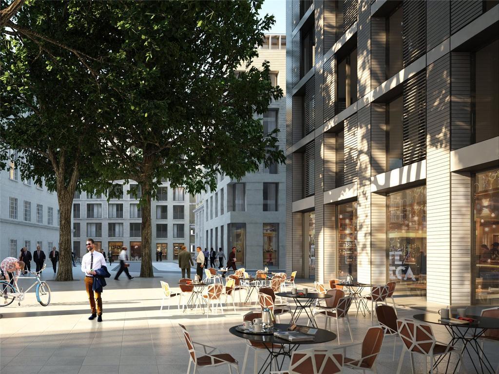 2 Bedrooms Flat for sale in Barts Square, 56 West Smithfield, Smithfield Market, London, EC1A